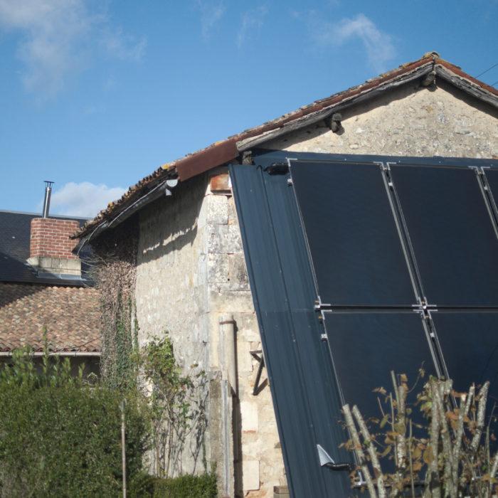 Installation d'un chauffage solaire combiné à Lusignan
