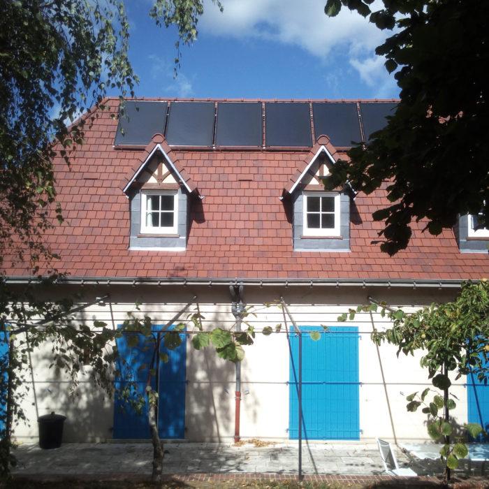 St Genest d'ambière (86) Installation solaire combiné