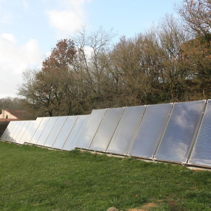 St Maixent (79) Installation solaire combiné