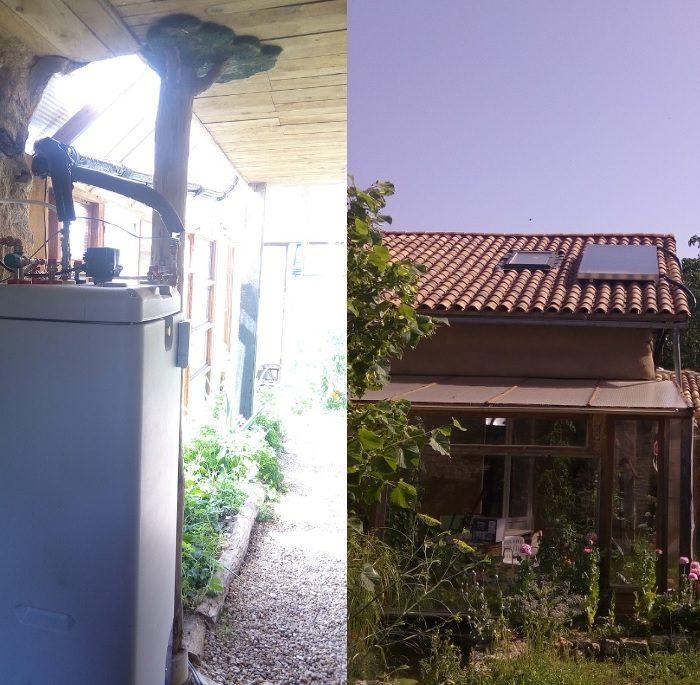 Chauffe eau solaire autovidangeable